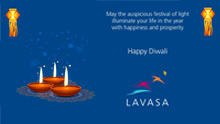 Happy Diwali from Lavasa!