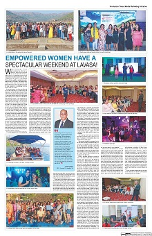 Empowered Women have a spectacular weekend at Lavasa!