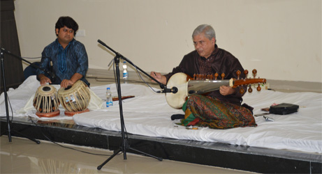 Musical evening at Christ Institute of Management